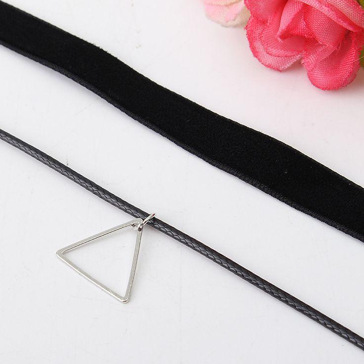 5pcs Lace Line Collar Necklace Combination Collar Choker Set - B - Tmart women fashion jewelry