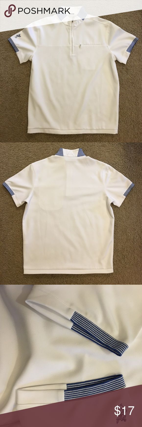Ashworth Golf Poloshirt Lightly worn, no stain. In great condition. Shirts Polos