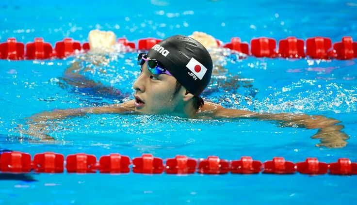 RIO DE JANEIRO, BRAZIL - AUGUST 08: Daiya Seto of Japan reacts in the Men's 200m Butterfly heat on Day 3 of the Rio 2016 Olympic Games at the Olympic Aquatics Stadium on August 8, 2016 in Rio de Janeiro, Brazil. (Photo by Adam Pretty/Getty Images)