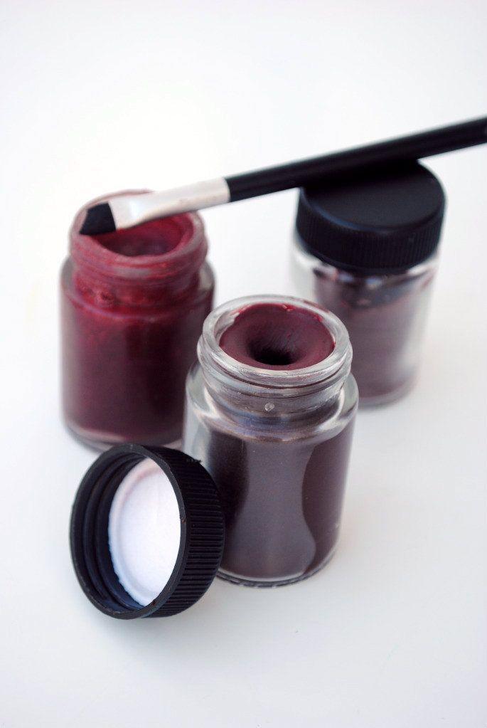 Gingerly Made: Red DIY Lipstick: Beeswax + Shea butter + Beet root powder