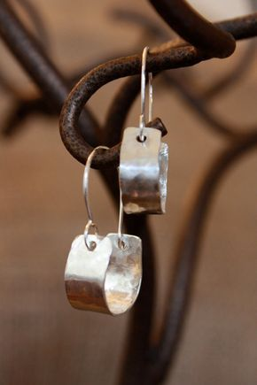 Simple charming hoop earrings - a favorite style of mine https://www.etsy.com/listing/88792044/sterling-silver-tiny-hoop