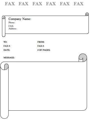 8 best fax cover sheet images on Pinterest Free printable, A pen - Fax Cover Sheet Free Template