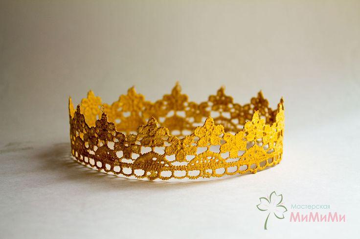 """Корона """"Золотые цветы"""""""