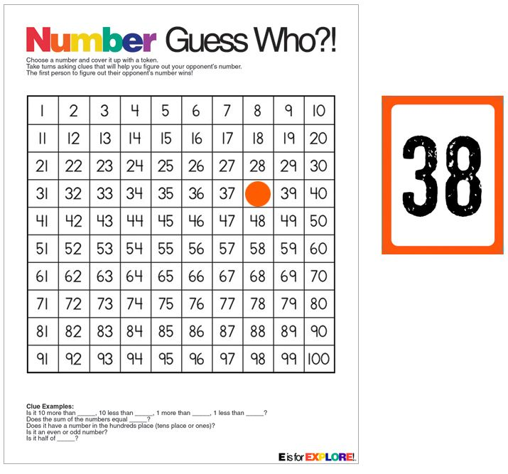 Best Hundreds Board Images On   Math Activities