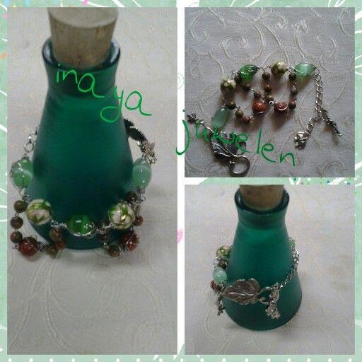 Go green color of bracelet