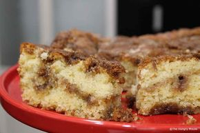 Easy, Old-Fashioned Cinnamon Coffee Cake (Streusel)   The Hungry Mouse