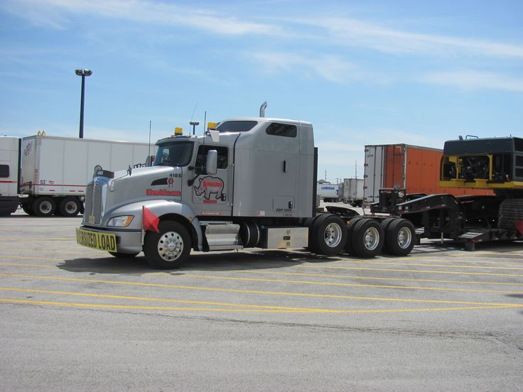 Tri Axle Show Trucks : Kenworth t tri axle heavy hauler truckin home again