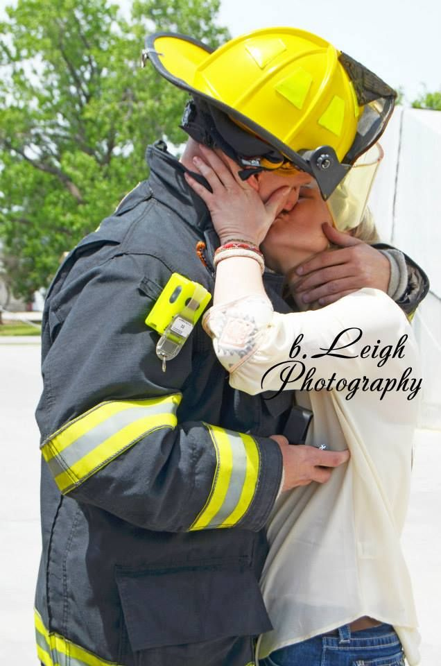 42 Best Firefighter Pictures Images On Pinterest Engagement Pics