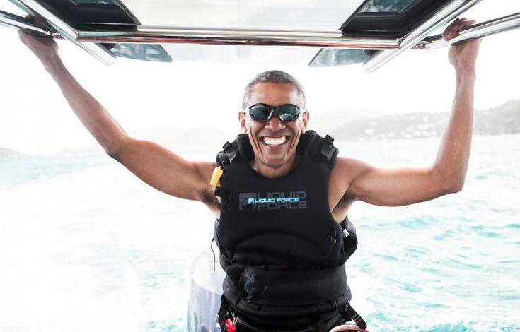 Самые впечатляющие снимки февраля 2017 от Reuters http://kleinburd.ru/news/samye-vpechatlyayushhie-snimki-fevralya-2017-ot-reuters/  Подборка фотографий, облетевших мировые СМИ в феврале 2017 года. Бывший президент США Барак Обама занимается кайтсёрфингом на острове Москито, Британские Виргинские острова, 7 февраля 2017 года. Беркут перехватывает дрон во время военных учений на авиабазе Мон-де-Марсан на юго-западе Франции, 10 февраля 2017 года. Йеменец пересекает американо-канадскую границу…