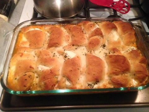 This Minnesota Crescent Roll Hotdish is an attractive and tasty meal in a pan. Expect rave reviews!