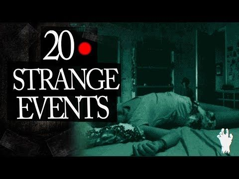 20 Mysterious and Strange Events Caught on Tape Mix  Today we check out another classic Frosty mix with 20 Mysterious and Strange Events Caught on Tape. I have included an new bunch of evergreen Frostmare episodes. Are these Real Ghosts that have been Caught on Camera this time ? The Strange and...
