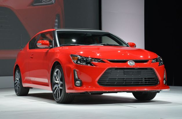 2014 Scion tC with updated styling