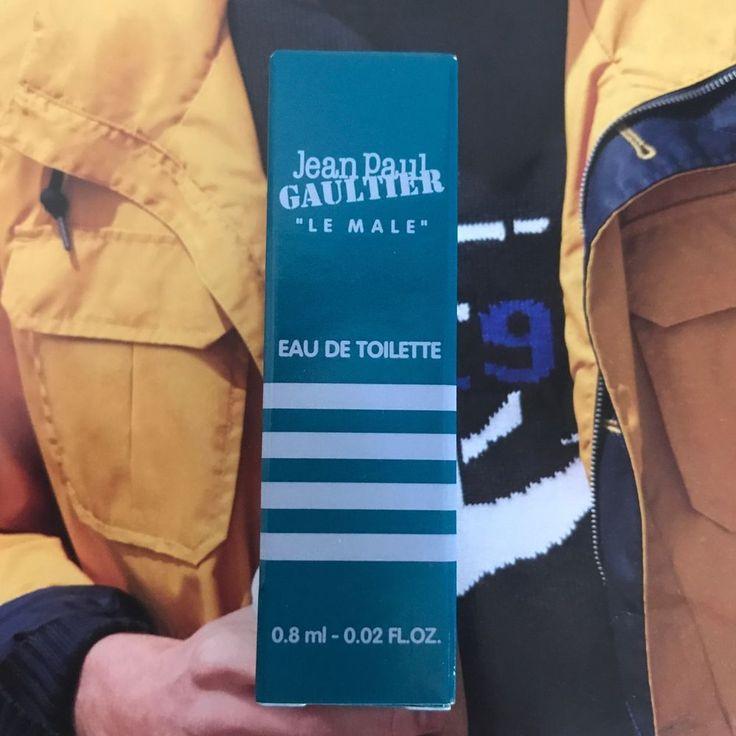 Le Male by Jean Paul Gaultier Eau de Toilette Men's Spray Cologne, .02 oz Travel  | eBay