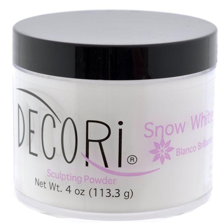 Adoro Decori Acrylic Sculpting Powder Snow White 4 oz * Be ...