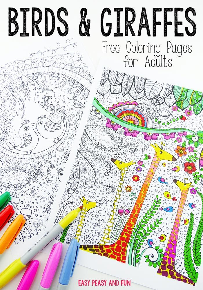 15 best Coloring Pages for Adults images on Pinterest | Coloring ...