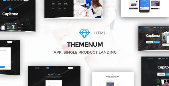 Themenum - Multi-Purpose App Showcase Responsive HTML Template