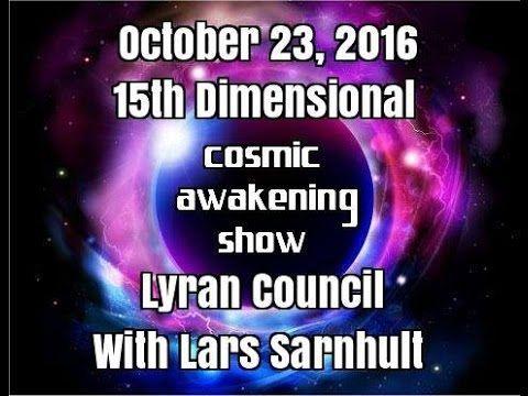 15th Dimensional Lyran Council With Lars Sarnhult – Cosmic Awakening Show : In5D Esoteric, Metaphysical, and Spiritual Database