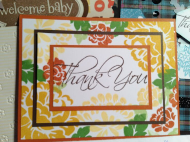 how to make a thank you card step by step