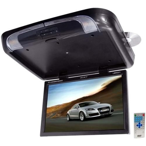 """Legacy Car Audio - Car DVD Player - 19"""" LCD - 16:10 - Multi - Larger Front"""