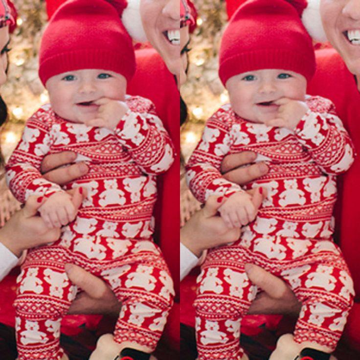 Encontrar Más Monos Información acerca de Navidad Niño Niñas Bebés Ropa para niños Osos Mamelucos Ropa de Bebé de Algodón de Manga Larga, alta calidad ropa de tocador, China ropa de plástico Proveedores, barato ropa de la ropa de Star Shop ! en Aliexpress.com