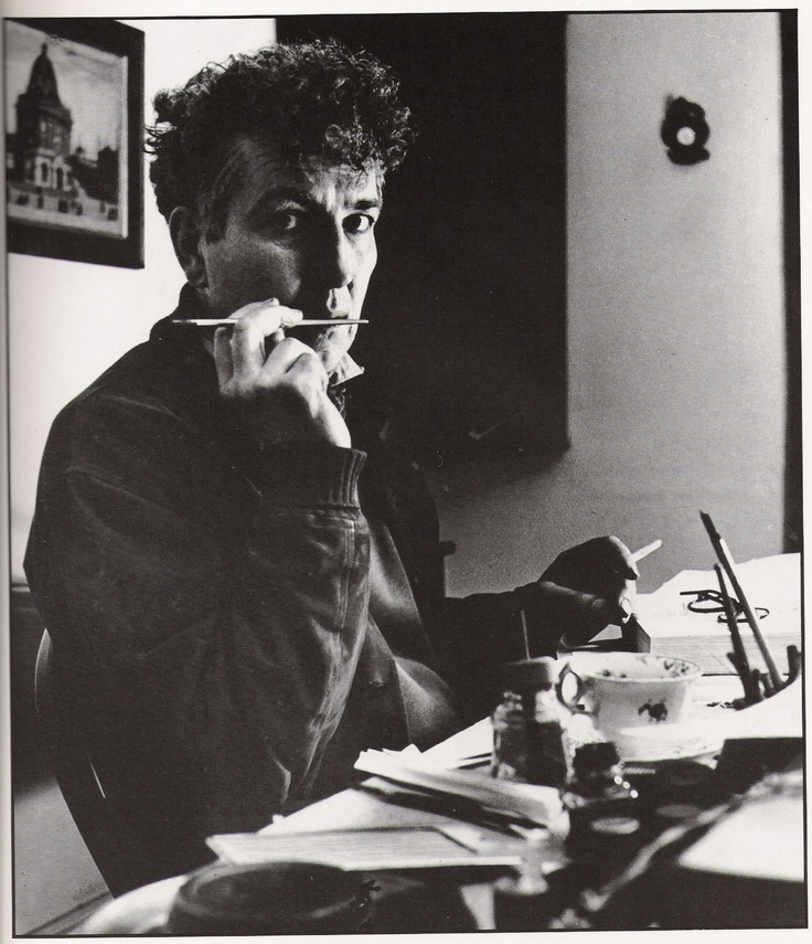 """To be a poet is a condition rather than a profession."" -Robert Graves, (photo-1941 by Bill Brandt)"