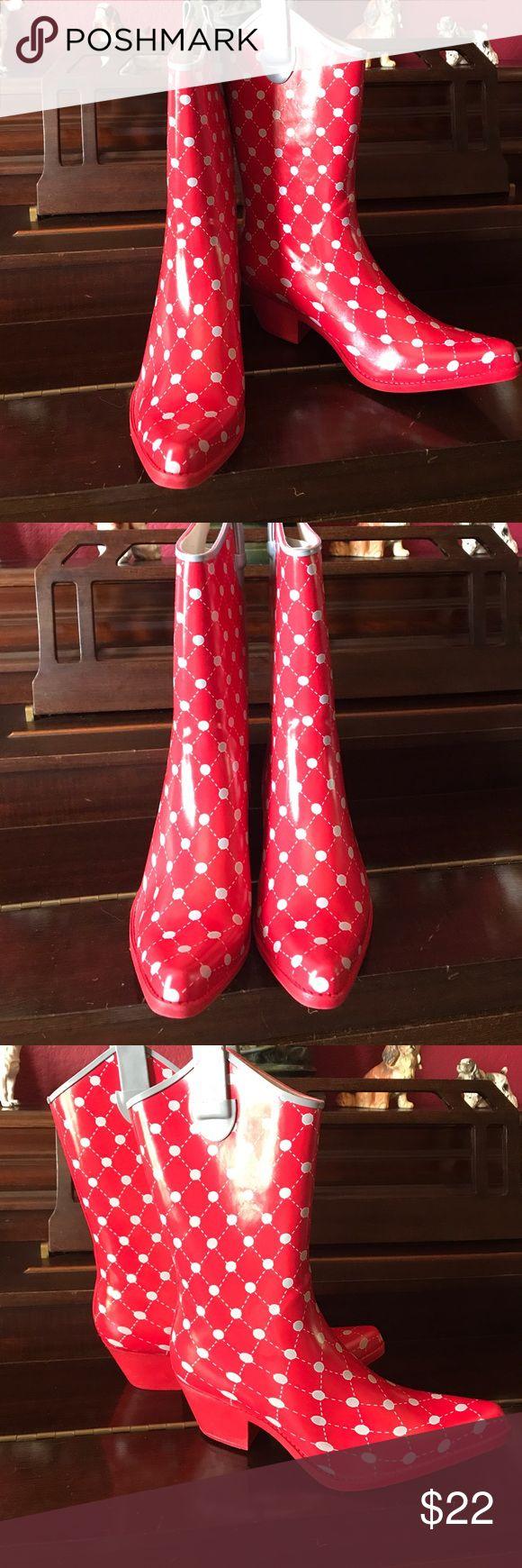 Corky's cowboy Rain boots Gorgeous and fashionable Rain boots Shoes Winter & Rain Boots
