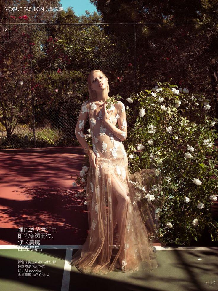Hana Jirickova HQ Pictures Vogue China Magazine Photoshoot March 2014