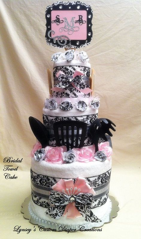Bridal Shower Cakes - Lynsey's Custom Diaper Creations