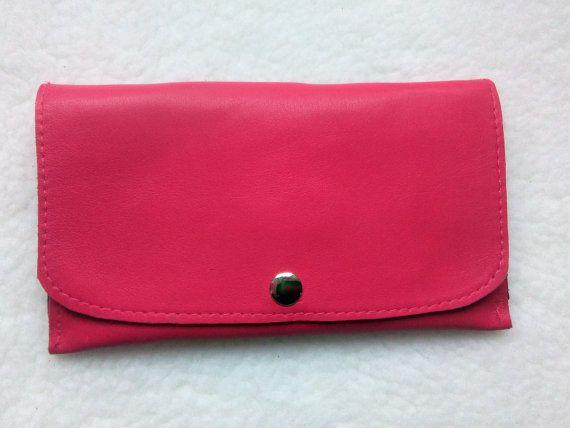 Billetera Rosa para Mujer Monedero para Mujer Rosa por JYNzapateros