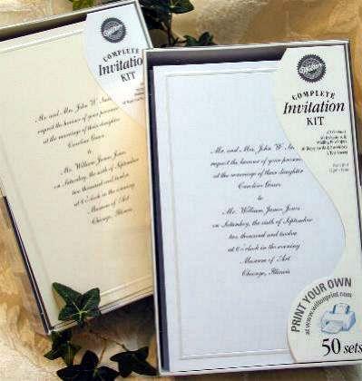 the 25+ best ideas about diy wedding invitation kits on pinterest, Wedding invitations
