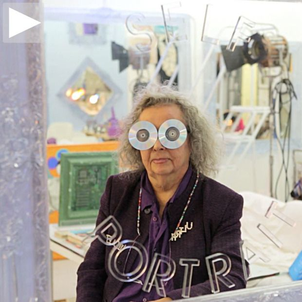Cool Hunting Video: Ultra Violet: A peek inside the studio and the mind of pop art's most infamous muse