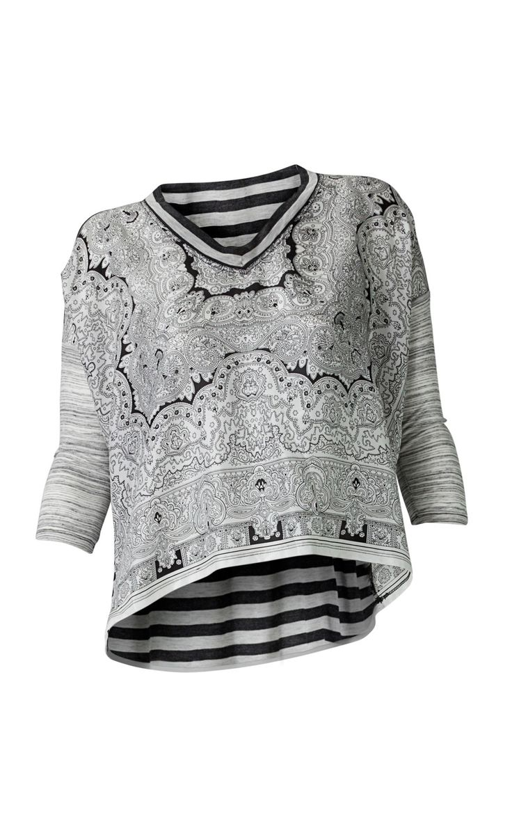 Scarf Top - Tops, Blouses / Shirts - CAbi Spring 2013 Collection
