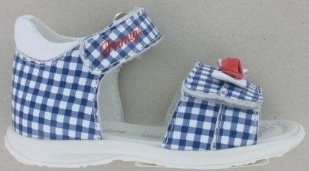 Primigi 1407133 Blue Check Sandals