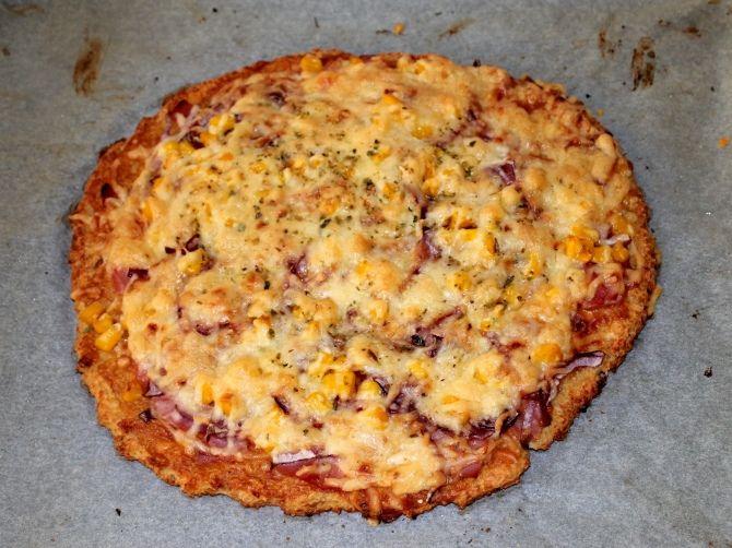 Túró alapú fitt pizza recept