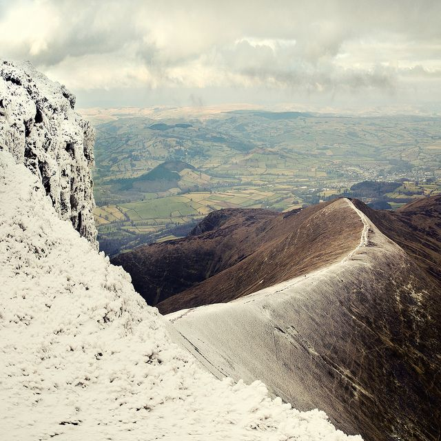 Pen y Fan, Brecon Beacons National Park, South Wales Trained in that area many times as a Grenadier!