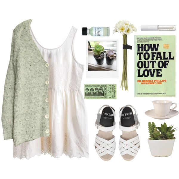 we almost knew what love was♡ by trashyangel on Polyvore featuring Lord & Berry, Flamant, MTWTFSS Weekday and She's So