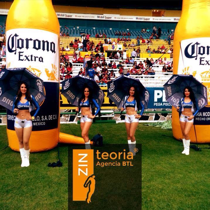 Edecanes ~ medio tiempo #Futbol ⚽️ @ZinteoriaBTL e.olmos@zinteoria.com