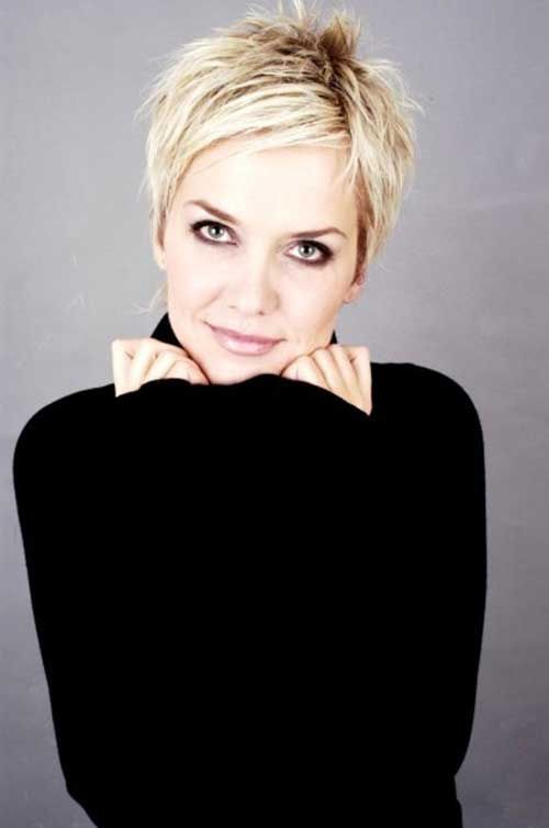 Edgy Short Hair Pixie                                                       …
