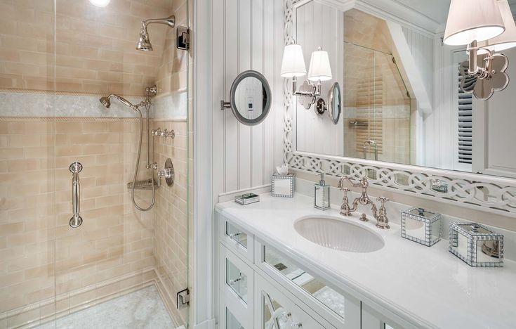 Hemingway Construction   Gallery of Bathrooms   Tile Work   Wood Work