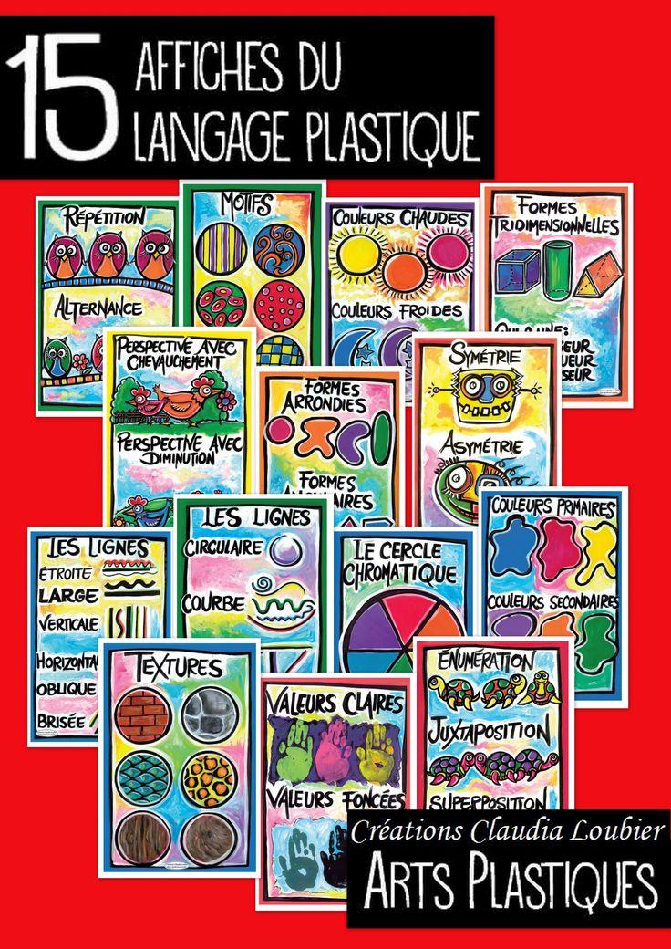 Collection de 15 affiches VERSION NUMÉRIQUE en PDF, illustrant TOUT le langage plastique des arts au primaire. Pour faciliter votre enseignement. Affiches faites à la main et scanner qualité professionnelle. Vous pouvez les imprimer ou les afficher sur votre TBI. Aussi disponible séparément. Version PDF seulement. Pour commander l'ensemble déjà imprimé sur carton glacé, 12 x 18 pouces, me contacter à cette adresse e-mail: claudialoubier@hotmail.com