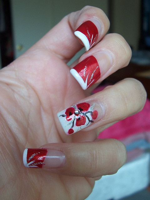 8 Best Poppy Nails Images By Lana Anderson On Pinterest Nail Nail