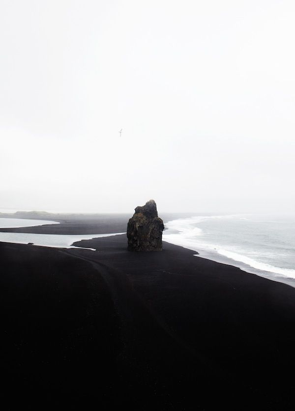 Black Beach Iceland | Coco Lapine Prints