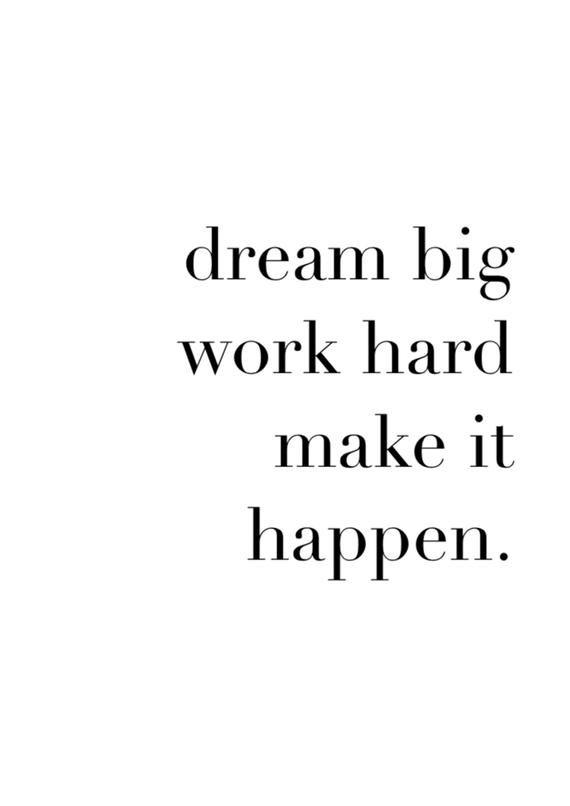 Dream Phrases : dream, phrases, Quote:, Dream, Happen, Inspirational, Hard,, Quotes, Motivation,