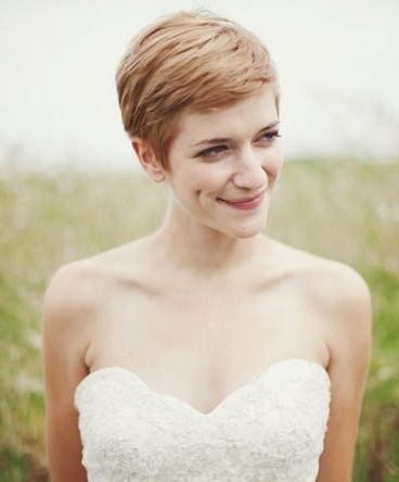 Pretty Pixie | 13 Stunning Short Bridal Hair Styles - Wedding Blog | Ireland's top wedding blog with real weddings, wedding dresses, advice, wedding hair s...