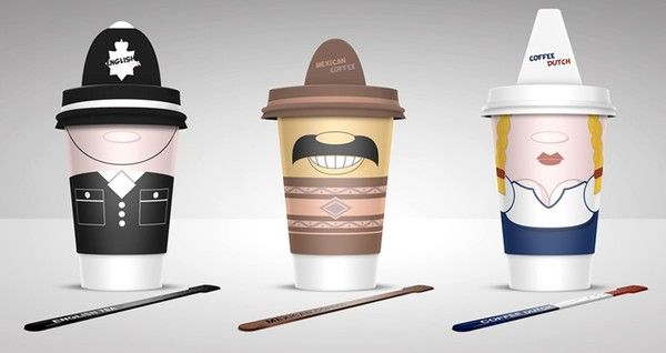 Coffee Cups by Alex LitovkaFood Packaging, Coffe Packaging, Cups Design, Coffe Cups Brand, Alex Litovka, Packaging Design, Graphics Design, Coffee Cups, Alex O'Loughlin