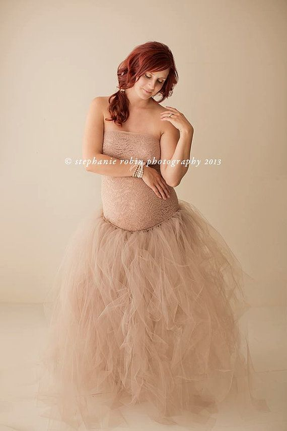 Luxe Maternity Tutu by PostboxBoutique on Etsy, $165.00
