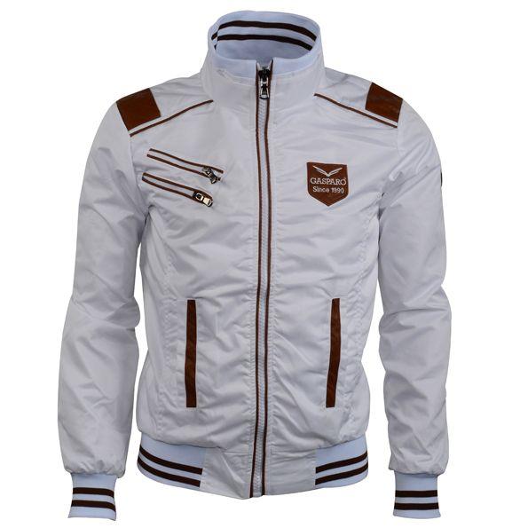 Gasparo trendy Italiaanse zomerjas Wit