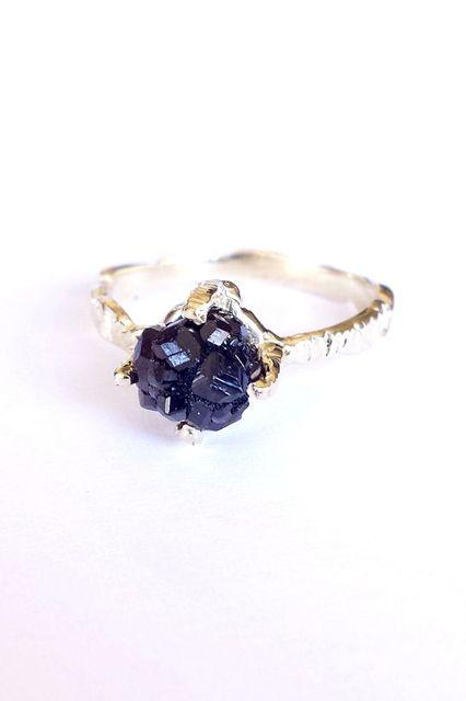 30 Dream Engagement Rings For The Anti-Diamond Girl #refinery29 http://www.refinery29.com/engagement-rings-diamond-alternatives#slide25