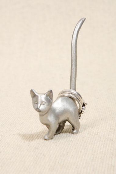Walking Cat Ring Holder
