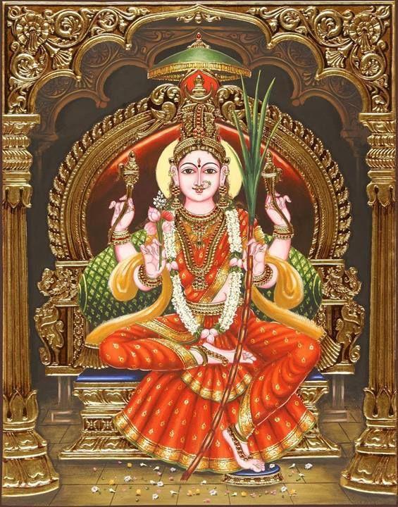 #12-Amazing Pictures of Goddess Lalitha Parameswari-Set 3